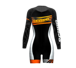 Seashell Scudopro Cycling Skin Suit Long Sleeve for WomanSeashell Scudopro Cycling Skin Suit Long Sleeve for Woman