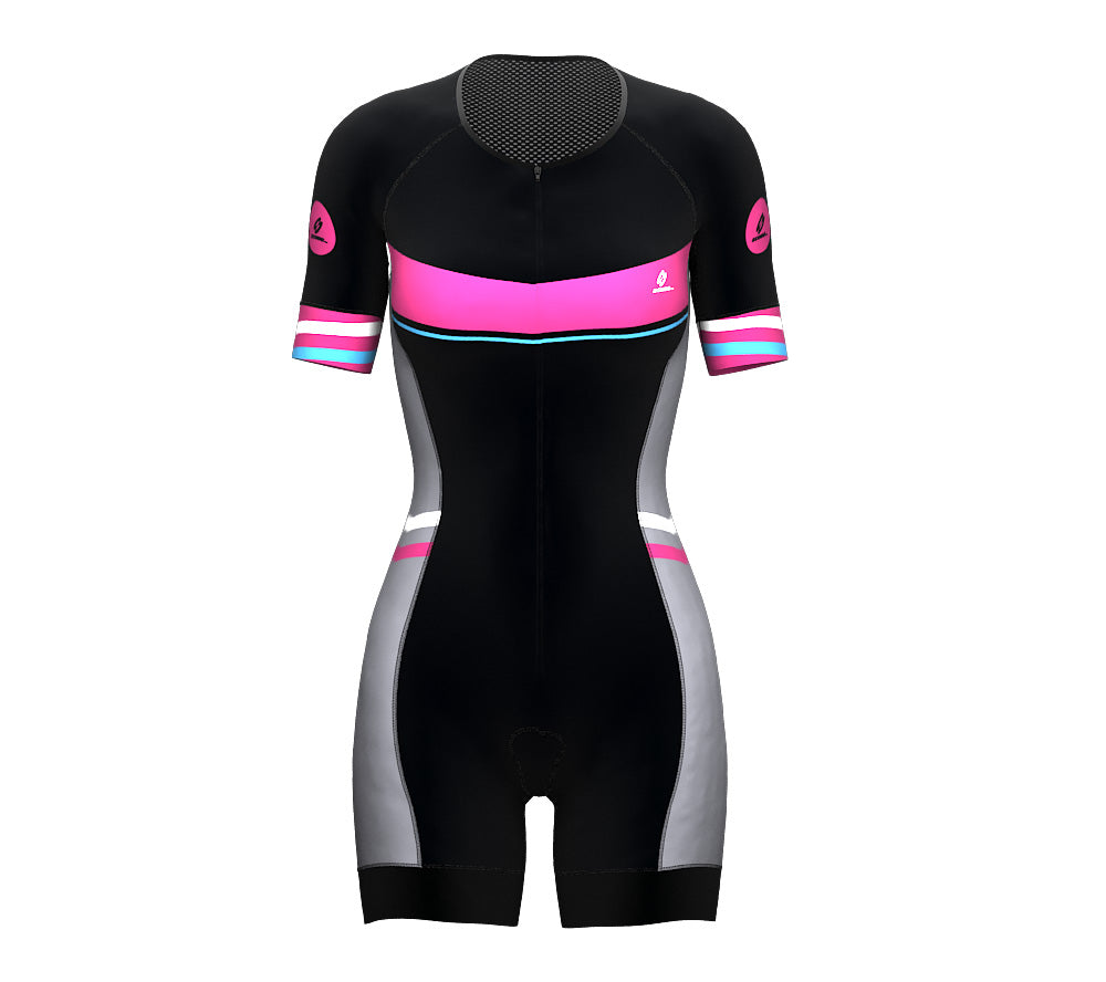 Seashell Scudopro Cycling Skin Suit Short Sleeve for WomanSeashell Scudopro Cycling Skin Suit Short Sleeve for Woman