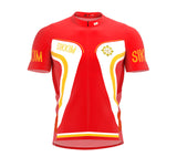 Sikkim  Full Zipper Bike Short Sleeve Cycling Jersey