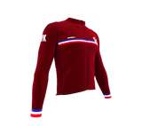ScudoPro Pro Thermal Long Sleeve Cycling Jersey Country CODE Slovakia | Men and Women