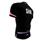 Slovakia Black CODE Short Sleeve Cycling PRO Jersey for Men and Women