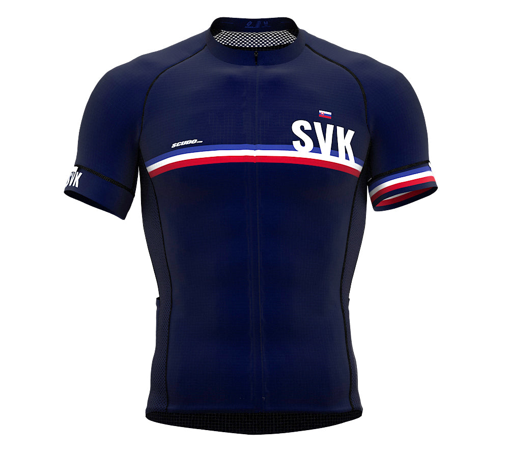 Slovakia Blue CODE Short Sleeve Cycling PRO Jersey for Men and WomenSlovakia Blue CODE Short Sleeve Cycling PRO Jersey for Men and Women