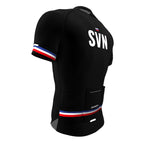 Slovenia Black CODE Short Sleeve Cycling PRO Jersey for Men and Women
