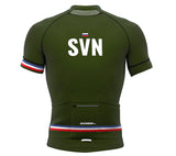 Slovenia Green CODE Short Sleeve Cycling PRO Jersey for Men and Women