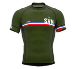 Slovenia Green CODE Short Sleeve Cycling PRO Jersey for Men and WomenSlovenia Green CODE Short Sleeve Cycling PRO Jersey for Men and Women