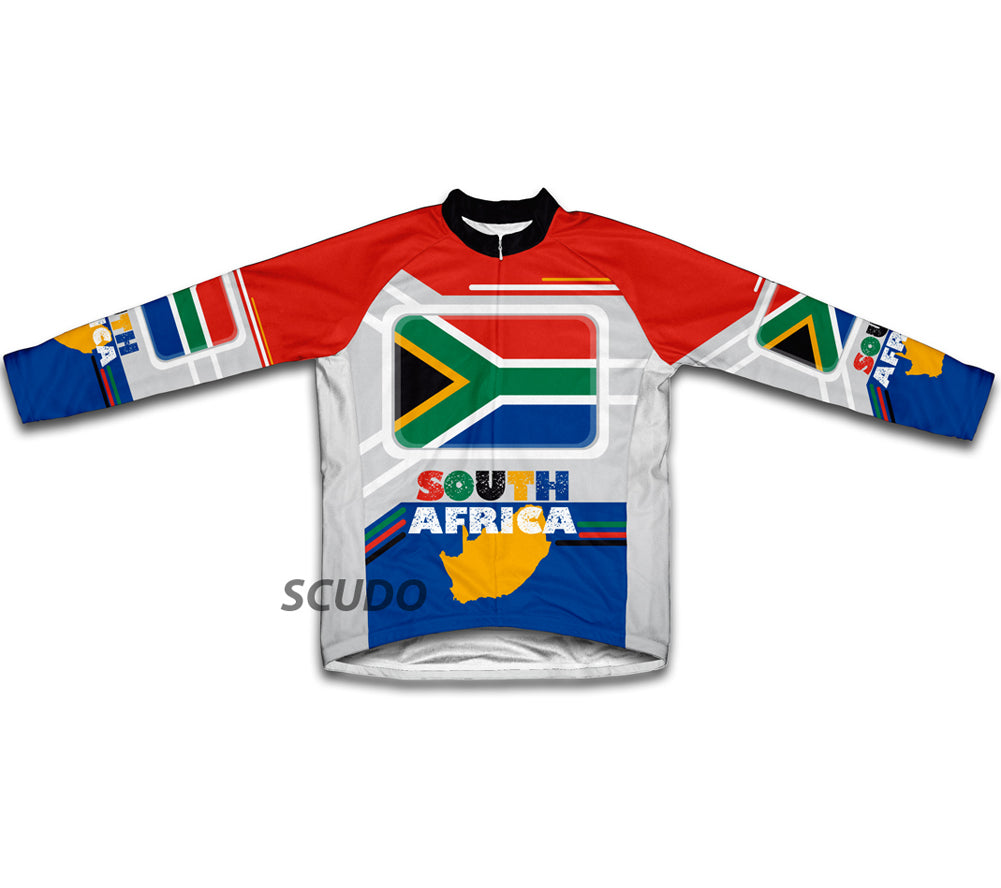 South Africa Winter Thermal Cycling Jersey