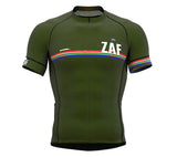 South Africa Green CODE Short Sleeve Cycling PRO Jersey for Men and WomenSouth Africa Green CODE Short Sleeve Cycling PRO Jersey for Men and Women