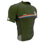 South Africa Green CODE Short Sleeve Cycling PRO Jersey for Men and Women