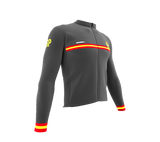 ScudoPro Pro Thermal Long Sleeve Cycling Jersey Country CODE Spain | Men and Women