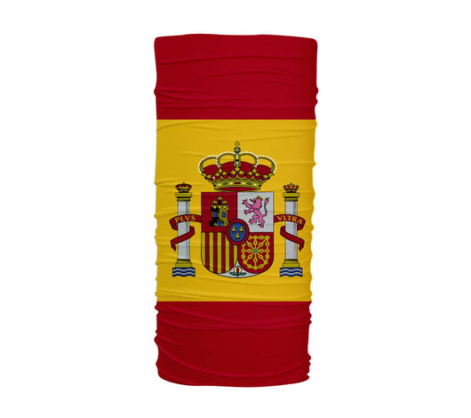 Spain Flag Multifunctional UV Protection Headband