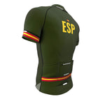 Spain Green CODE Short Sleeve Cycling PRO Jersey for Men and Women