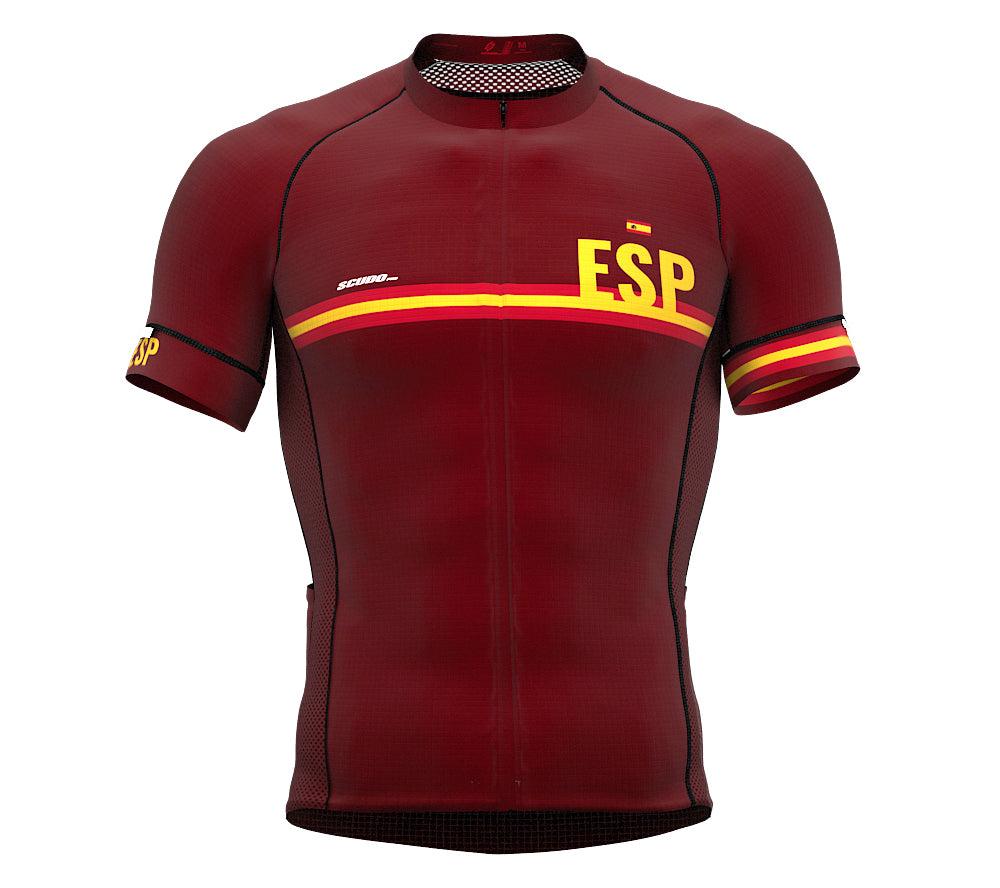 Spain Vine CODE Short Sleeve Cycling PRO Jersey for Men and WomenSpain Vine CODE Short Sleeve Cycling PRO Jersey for Men and Women