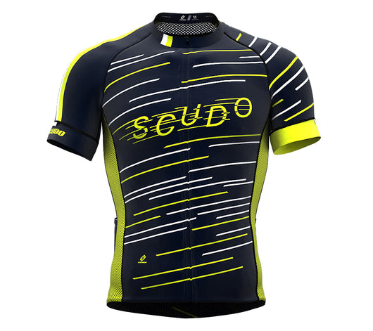 Speed Lime Green Short Sleeve Cycling PRO Jersey