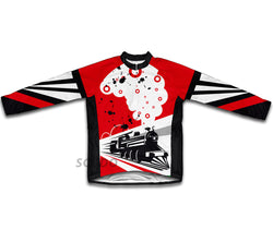 Speed Tracks Winter Thermal Cycling Jersey