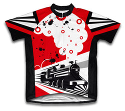 Speed Tracks Short Sleeve Cycling Jersey for Men and Women