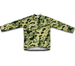 Standard Woodland Camouflage Winter Thermal Cycling Jersey