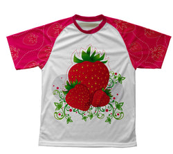 Strawberry Technical T-Shirt for Men and Women