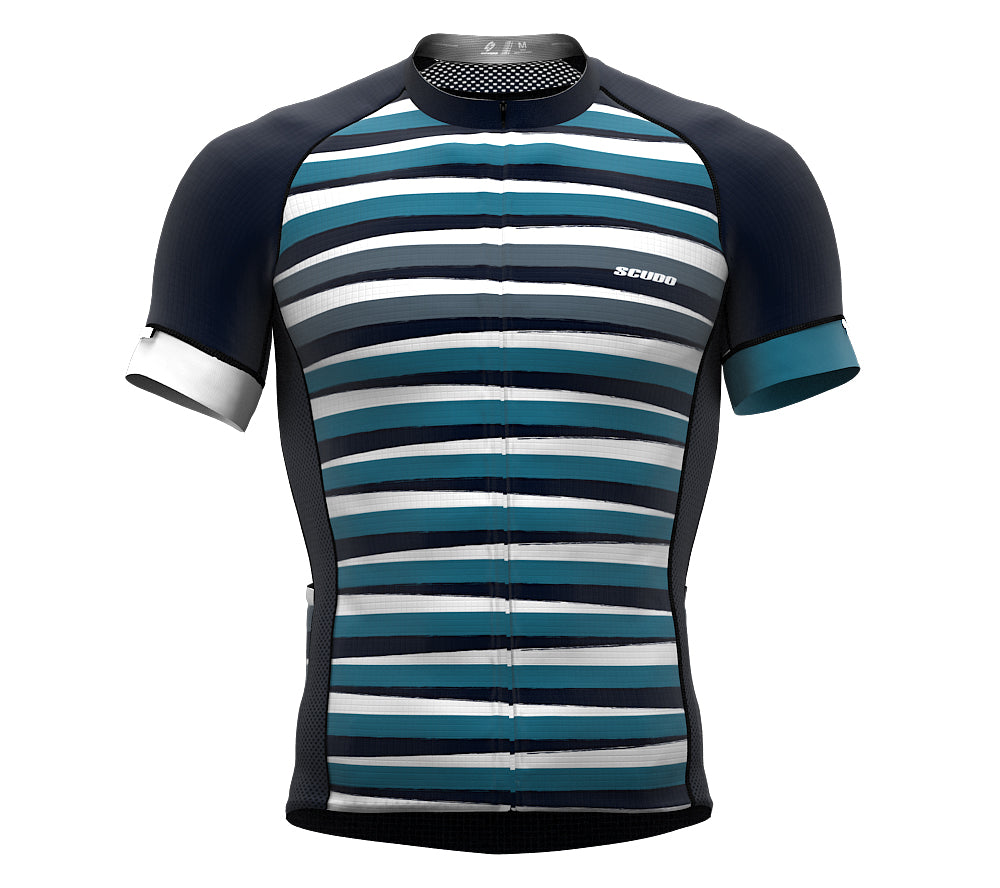 Stripeds Aegean Short Sleeve Cycling PRO Jersey