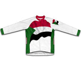 Sudan Flag Winter Thermal Cycling Jersey