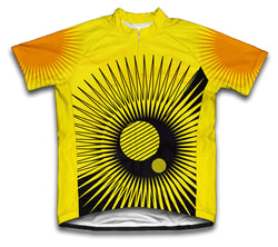 Sunny Days and Nights Short Sleeve Cycling Jersey for Men and Women