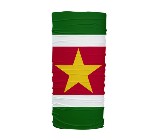 Suriname Flag Multifunctional UV Protection Headband