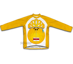 Surprised Winter Thermal Cycling Jersey
