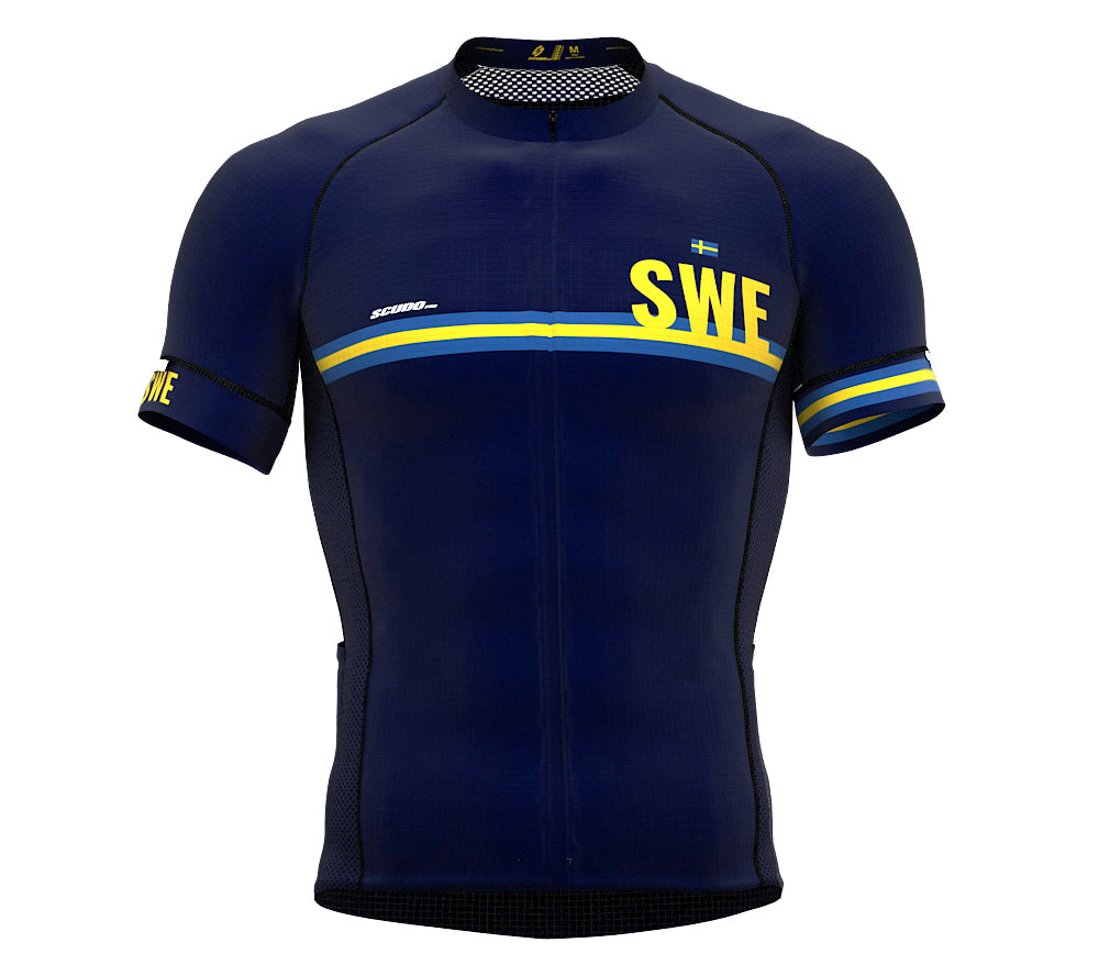 Sweden Blue CODE Short Sleeve Cycling PRO Jersey for Men and WomenSweden Blue CODE Short Sleeve Cycling PRO Jersey for Men and Women