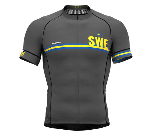 Sweden Gray CODE Short Sleeve Cycling PRO Jersey for Men and WomenSweden Gray CODE Short Sleeve Cycling PRO Jersey for Men and Women
