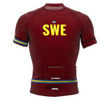 Sweden Vine CODE Short Sleeve Cycling PRO Jersey for Men and Women
