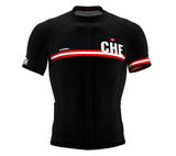 Switzerland Black CODE Short Sleeve Cycling PRO Jersey for Men and WomenSwitzerland Black CODE Short Sleeve Cycling PRO Jersey for Men and Women
