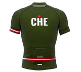 Switzerland Green CODE Short Sleeve Cycling PRO Jersey for Men and Women