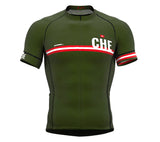 Switzerland Green CODE Short Sleeve Cycling PRO Jersey for Men and WomenSwitzerland Green CODE Short Sleeve Cycling PRO Jersey for Men and Women