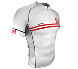 Switzerland White CODE Short Sleeve Cycling PRO Jersey for Men and Women