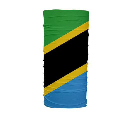 Tanzania Flag Multifunctional UV Protection Headband