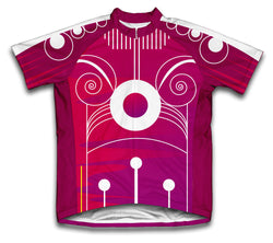Techno Berry Short Sleeve Cycling Jersey for Men and Women