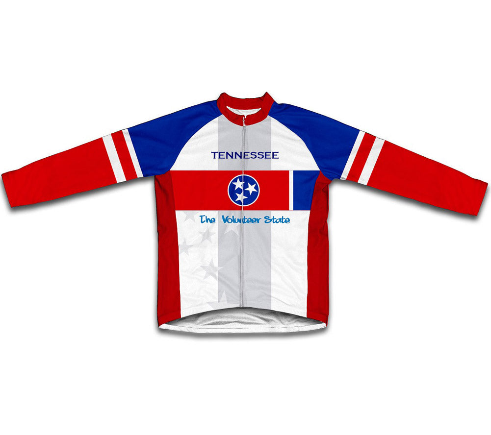 d3830244ea5 Tennessee Flag Winter Thermal Cycling Jersey – ScudoPro