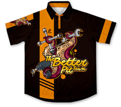 The Better Team Pit Crew Racing Shirt Jersey