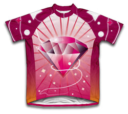 The Pink Panther Short Sleeve Cycling Jersey for Men and Women