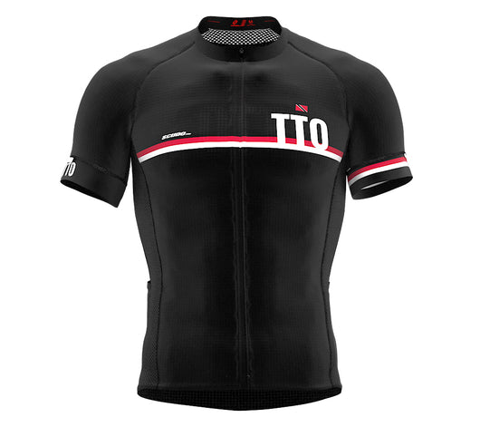 Trinidad And Tobago Black CODE Short Sleeve Cycling PRO Jersey for Men and WomenTrinidad And Tobago Black CODE Short Sleeve Cycling PRO Jersey for Men and Women