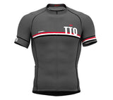 Trinidad And Tobago Gray CODE Short Sleeve Cycling PRO Jersey for Men and WomenTrinidad And Tobago Gray CODE Short Sleeve Cycling PRO Jersey for Men and Women