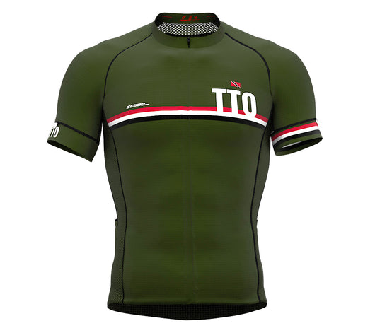 Trinidad And Tobago Green CODE Short Sleeve Cycling PRO Jersey for Men and WomenTrinidad And Tobago Green CODE Short Sleeve Cycling PRO Jersey for Men and Women