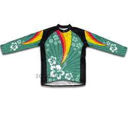 Tropical Fission Winter Thermal Cycling Jersey