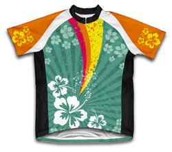 Tropical Fission Short Sleeve Cycling Jersey for Men and Women