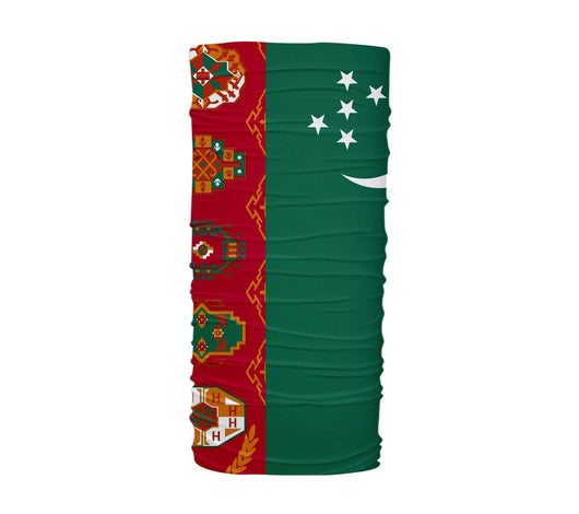 Turkmenistan Flag Multifunctional UV Protection Headband