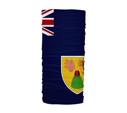 Turks And Caicos Islands Flag Multifunctional UV Protection Headband