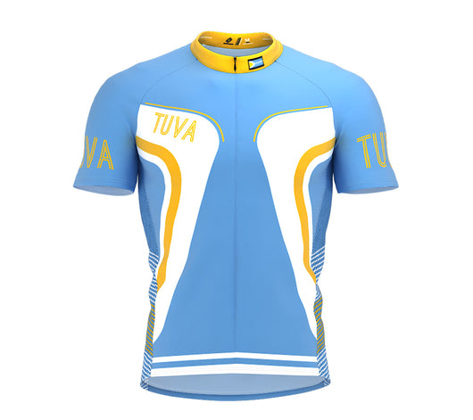 Tuva  Full Zipper Bike Short Sleeve Cycling Jersey