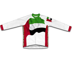 United Arab Emirates Flag Winter Thermal Cycling Jersey