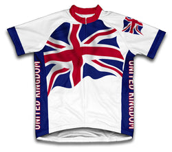 United Kingdom Flag Cycling Jersey for Men and Women