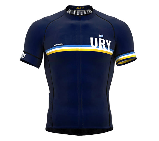 Uruguay Blue CODE Short Sleeve Cycling PRO Jersey for Men and WomenUruguay Blue CODE Short Sleeve Cycling PRO Jersey for Men and Women