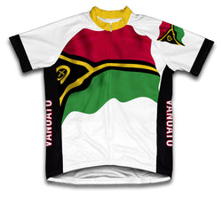 Vanuatu Flag Cycling Jersey for Men and Women